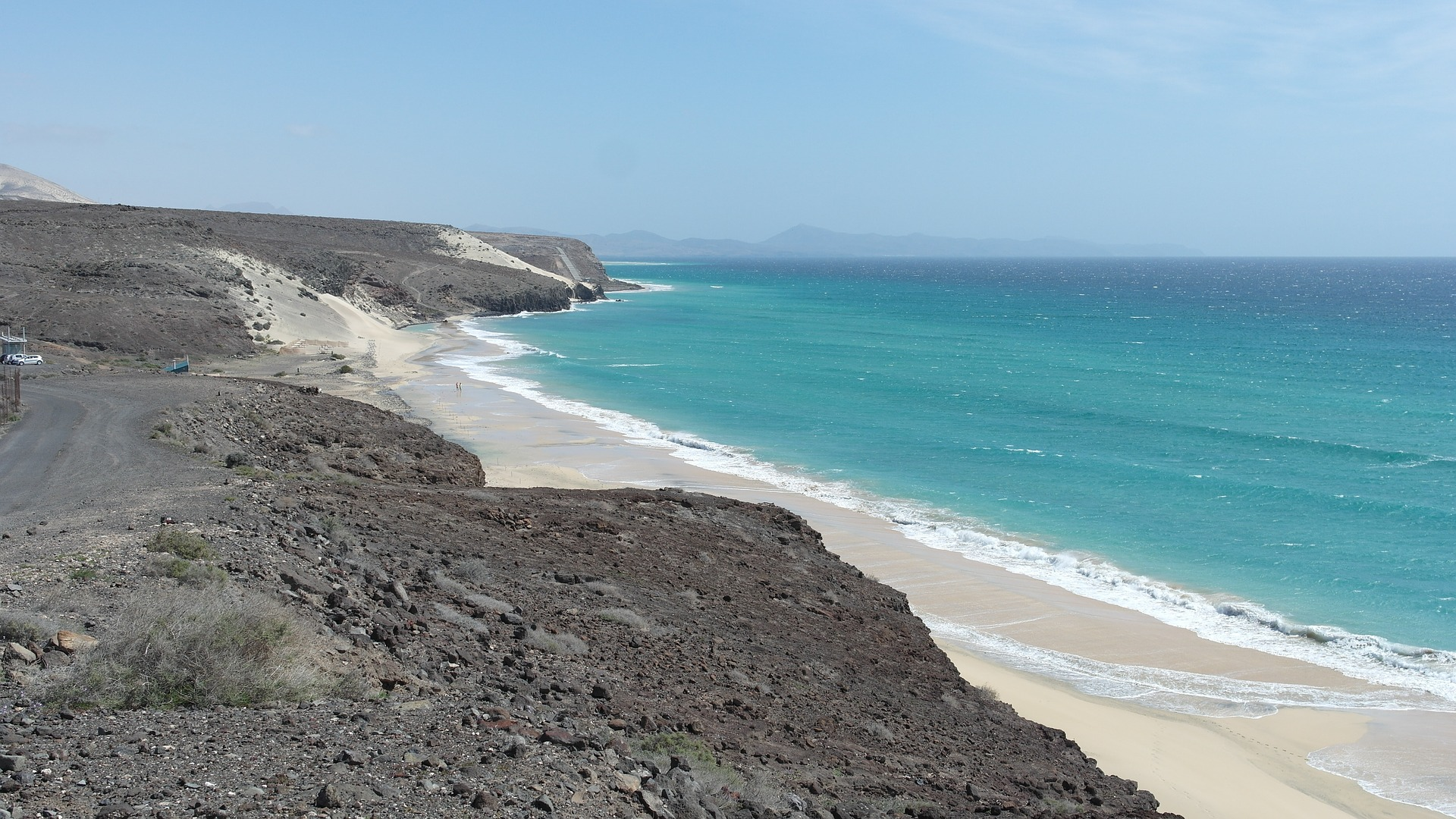 Fuerteventura, der Strand, Kanarische Insel