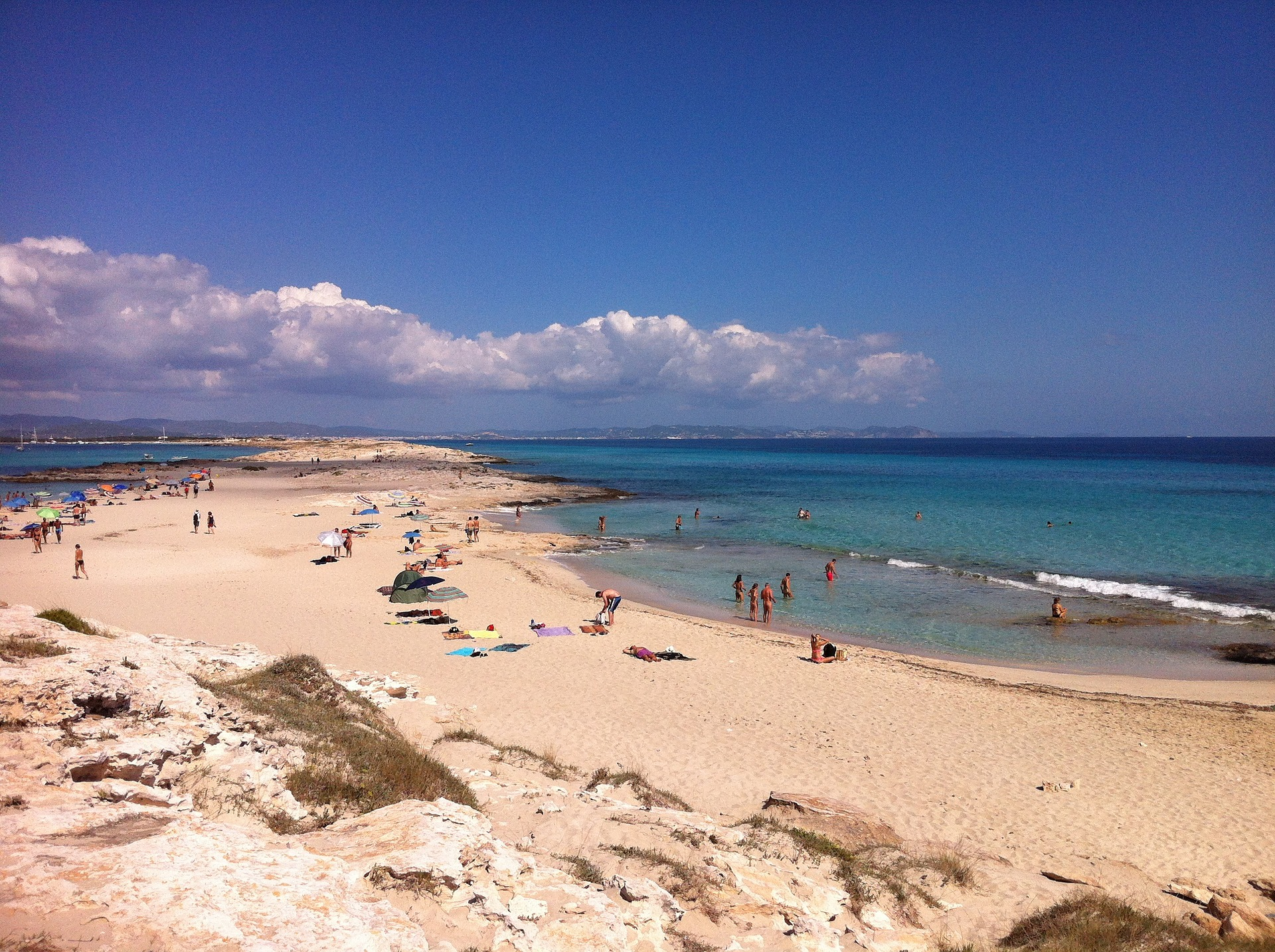 formentera, beach, strand, sand, meer